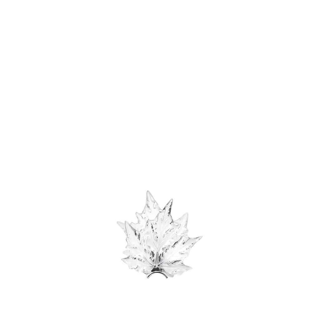 Champs-Élysées wall sconce | Clear crystal, chrome finish | Interior Design Lalique