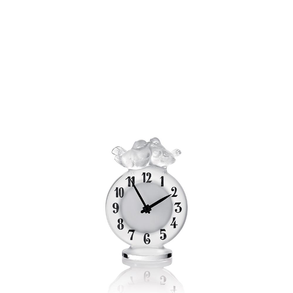 Antoinette clock | Clear crystal | Clock Lalique