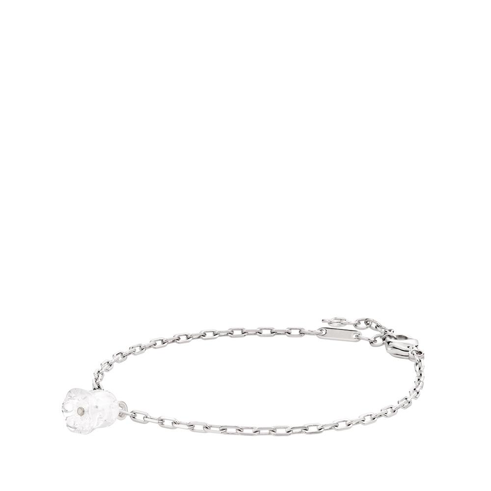 Muguet bracelet | Clear crystal, silver | Costume jewellery Lalique