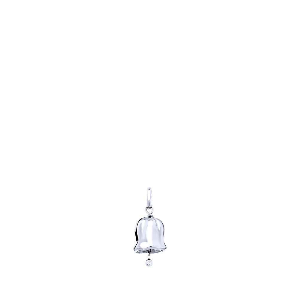Muguet pendant   Diamond, silver   Costume jewellery Lalique