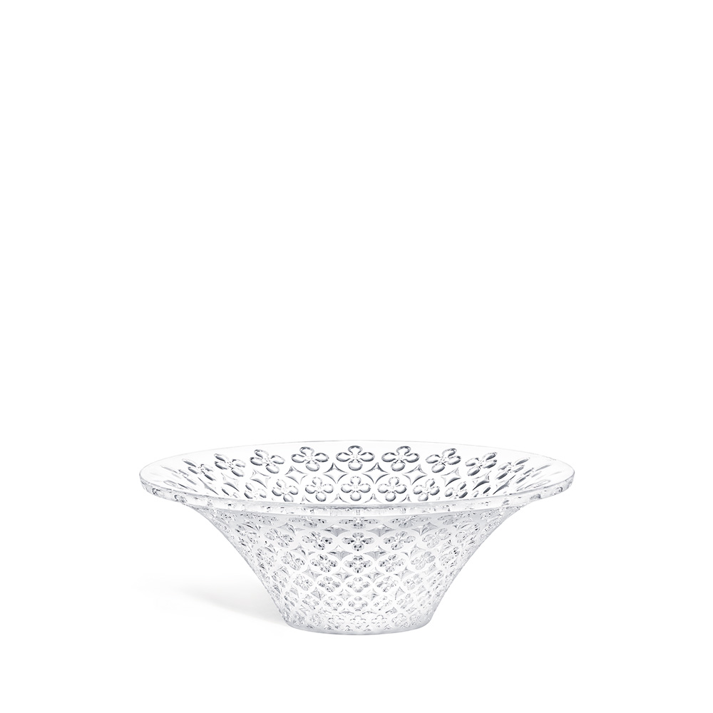 Venezia small bowl, hollow | Clear crystal | Small bowl Lalique