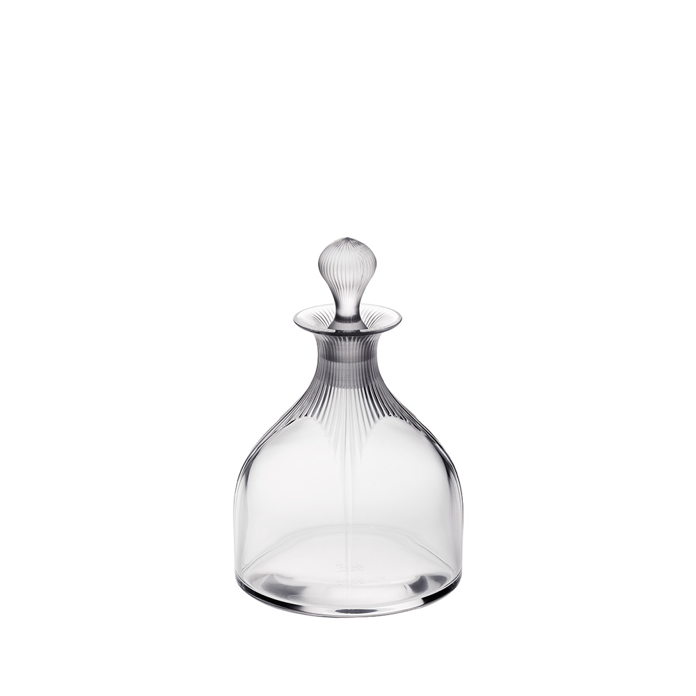 100 POINTS wine decanter | 100 POINTS by James Suckling, clear crystal | Decanter Lalique