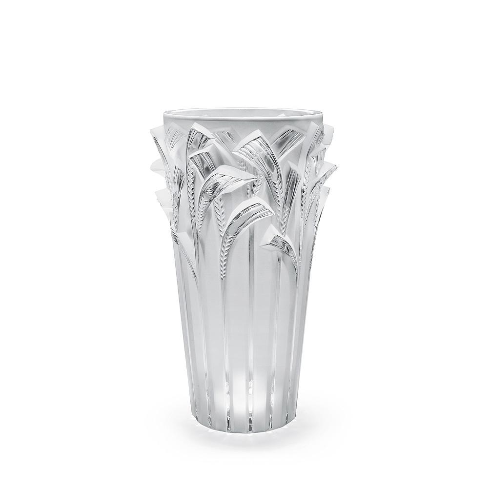 Epis vase | Clear crystal | Vase Lalique