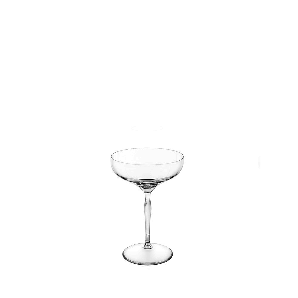 100 POINTS Champagne coupe | 100 POINTS by James Suckling, clear crystal | Glass Lalique
