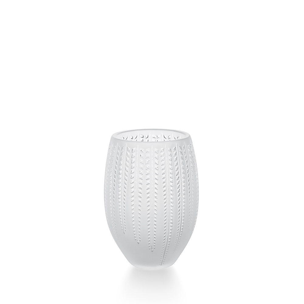 Glycines vase | Clear crystal | Vase Lalique