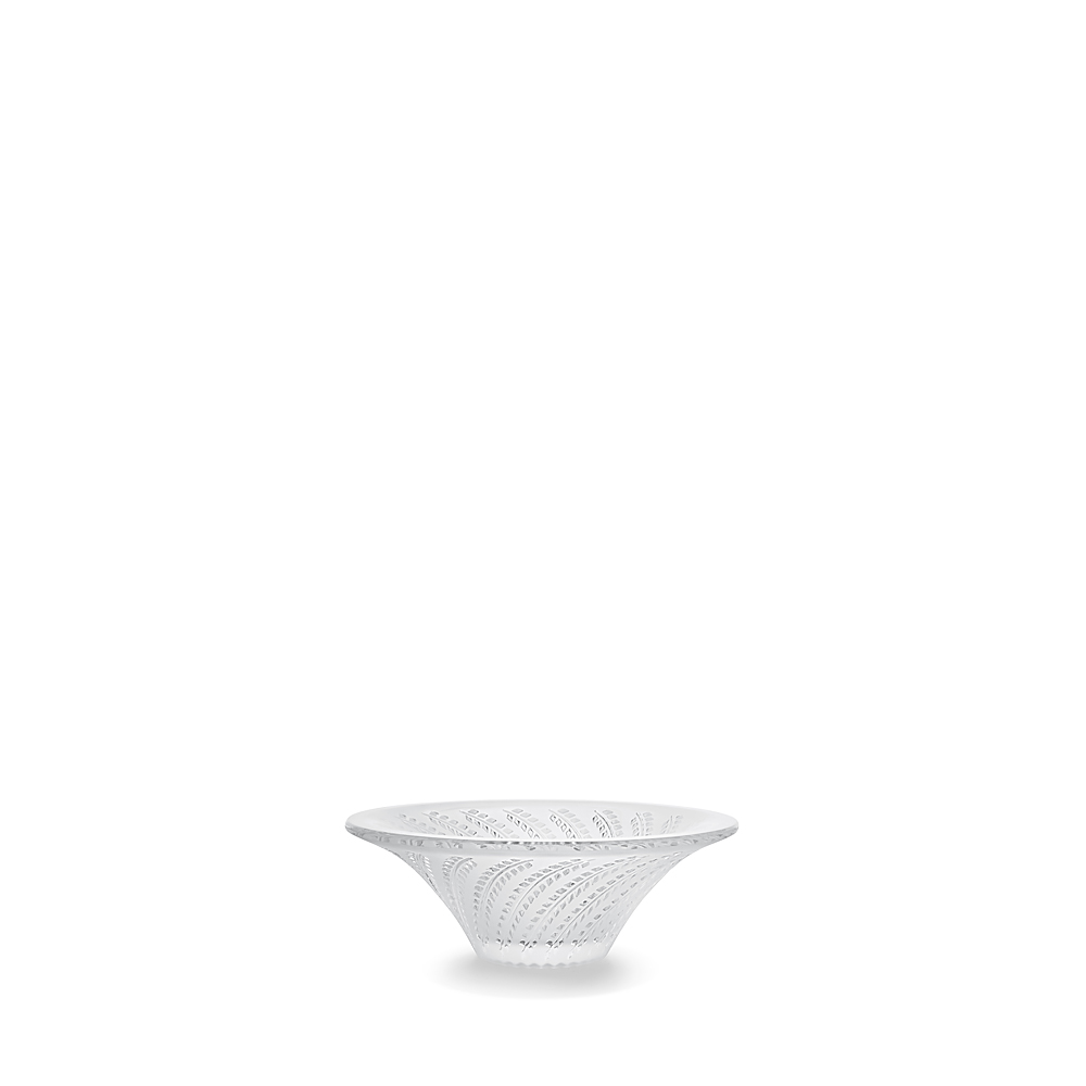 Glycines small bowl, hollow | Clear crystal | Small bowl Lalique