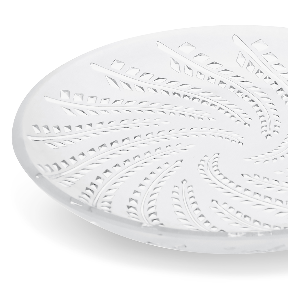 Glycines small bowl, flat | Clear crystal | Small bowl Lalique