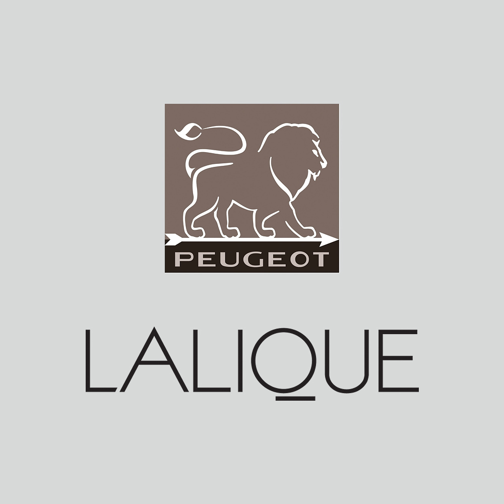 Feuilles salt grinder | Clear crystal | Lalique and Peugeot