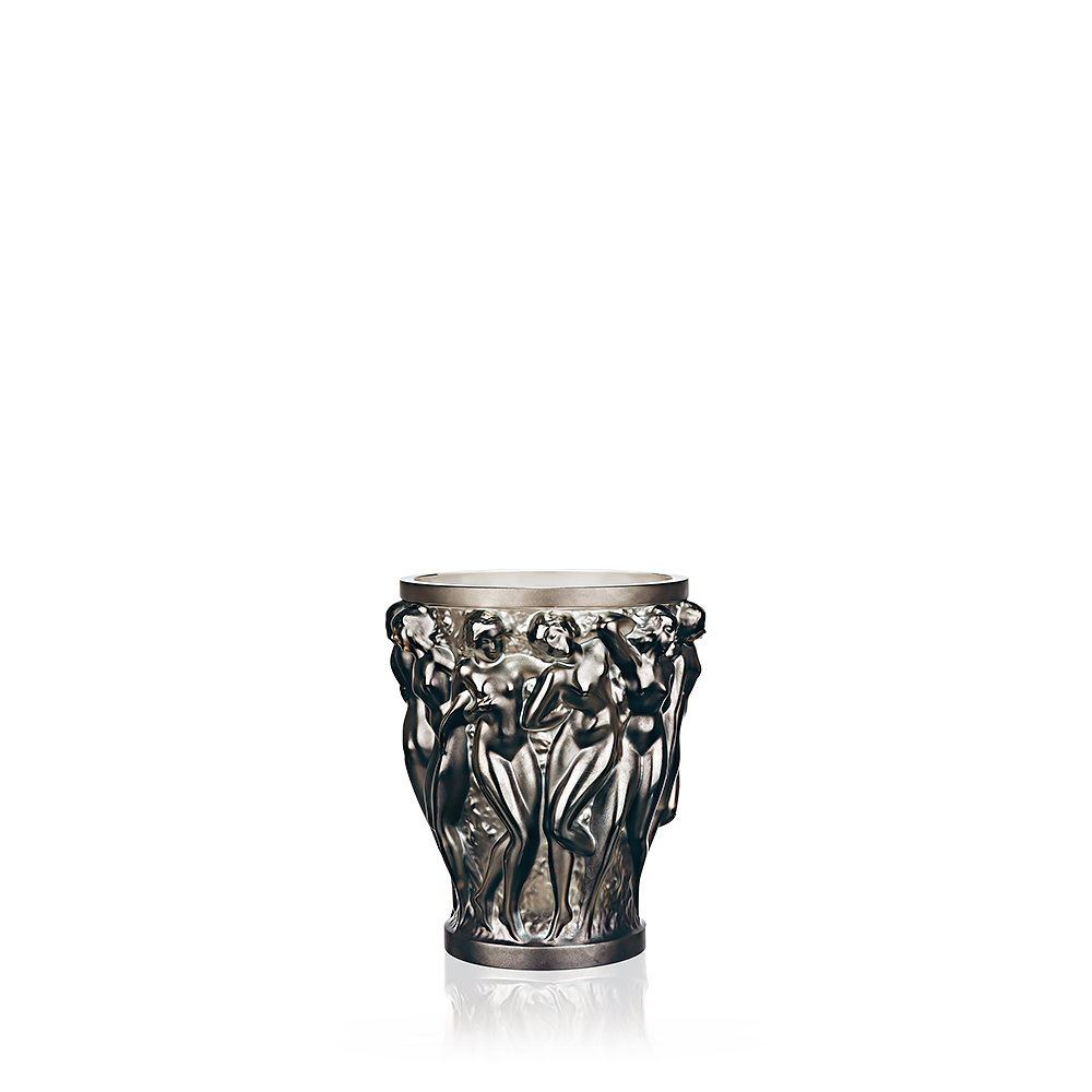 Bacchantes vase Bronze crystal small size
