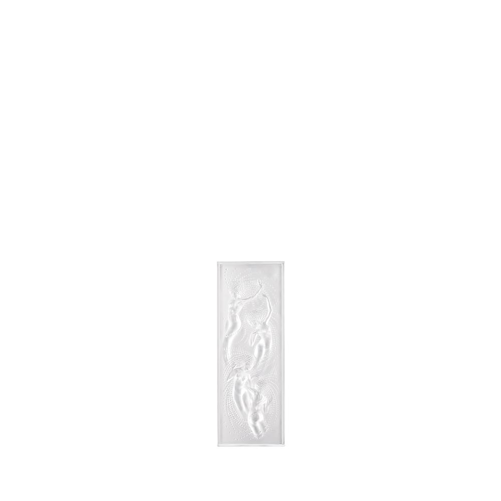 Naïades decorative panel | Clear crystal | Interior Design Lalique
