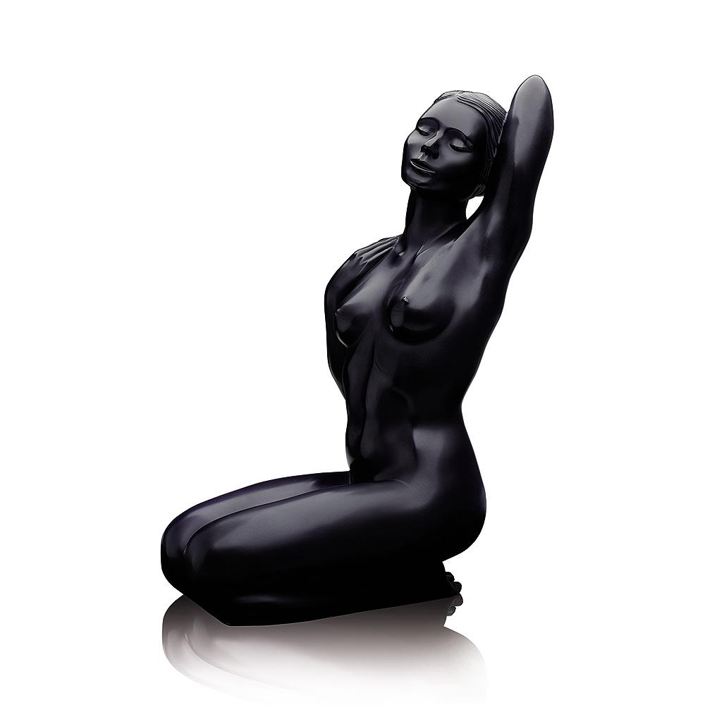 Aphrodite, Grand Nude sculpture   Limited edition (99 pieces), black crystal   Sculpture Lalique