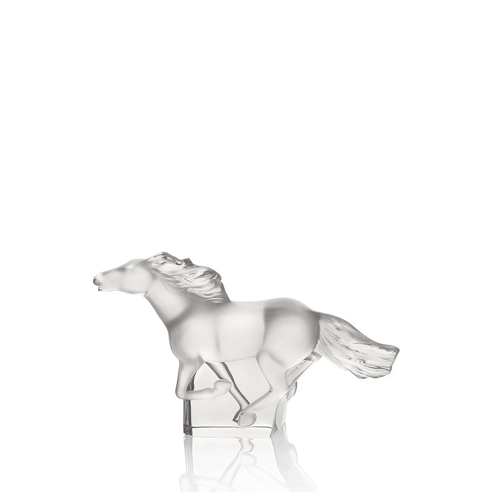 Kazak Horse sculpture | Clear crystal | Sculpture Lalique
