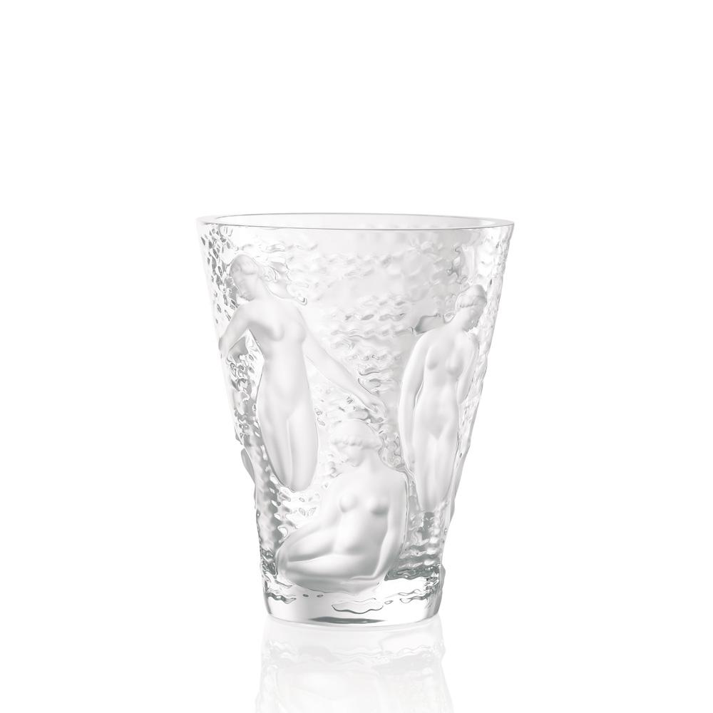 Ondines vase | Clear crystal | Vase Lalique