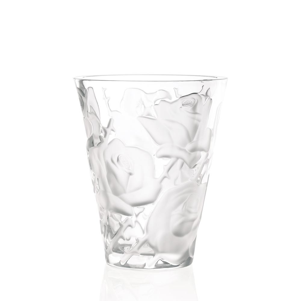 Ispahan vase | Clear crystal | Vase Lalique