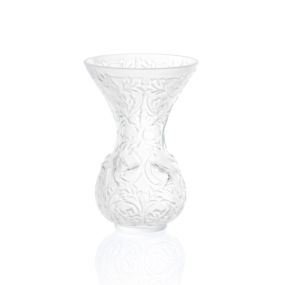 Arabesque vase | Clear crystal | Vase Lalique