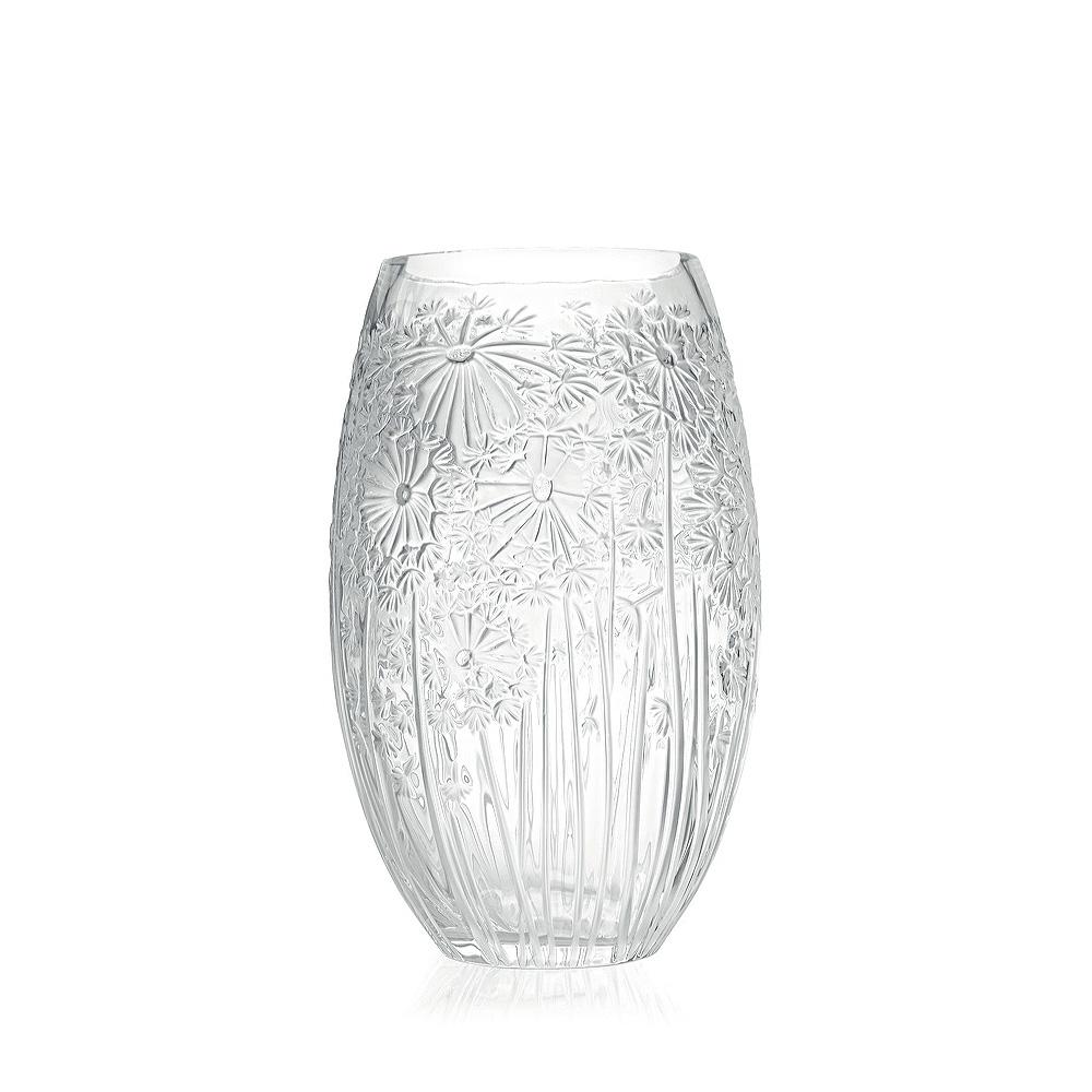 Bucolique vase   Clear crystal   Vase Lalique