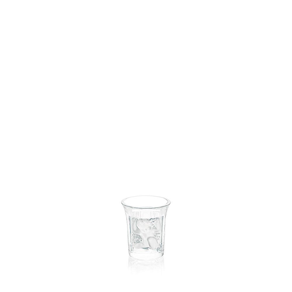 Enfants liquor shot glass | Enfants collection, clear crystal | Glass Lalique
