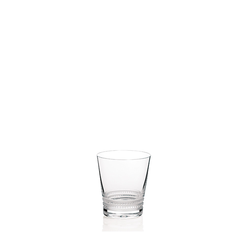 Facet tumbler N°1 | Facet collection, clear crystal | Glass Lalique