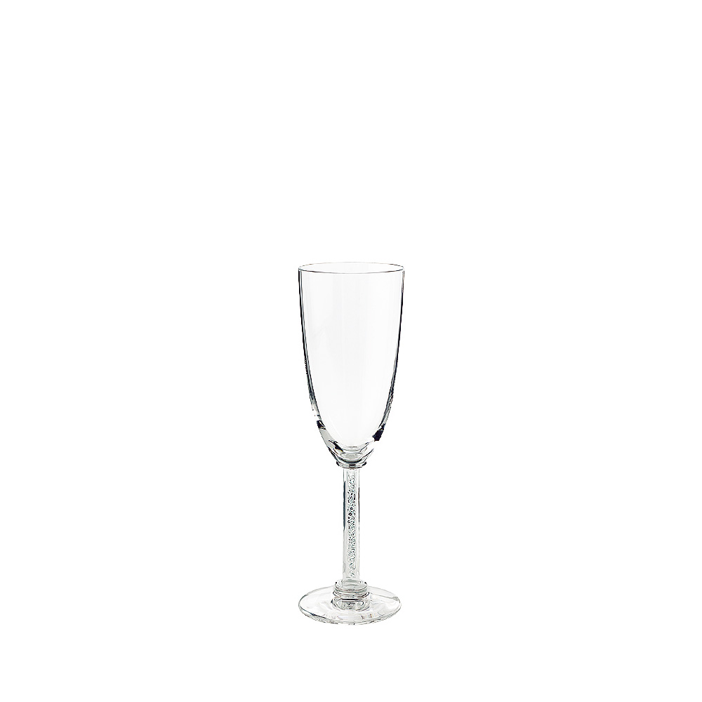 Phalsbourg Champagne flute | Phalsbourg collection, clear crystal | Glass Lalique