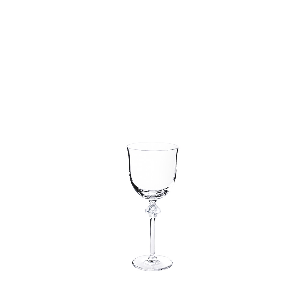Roxane water glass N°2 | Roxane collection, clear crystal | Glass Lalique