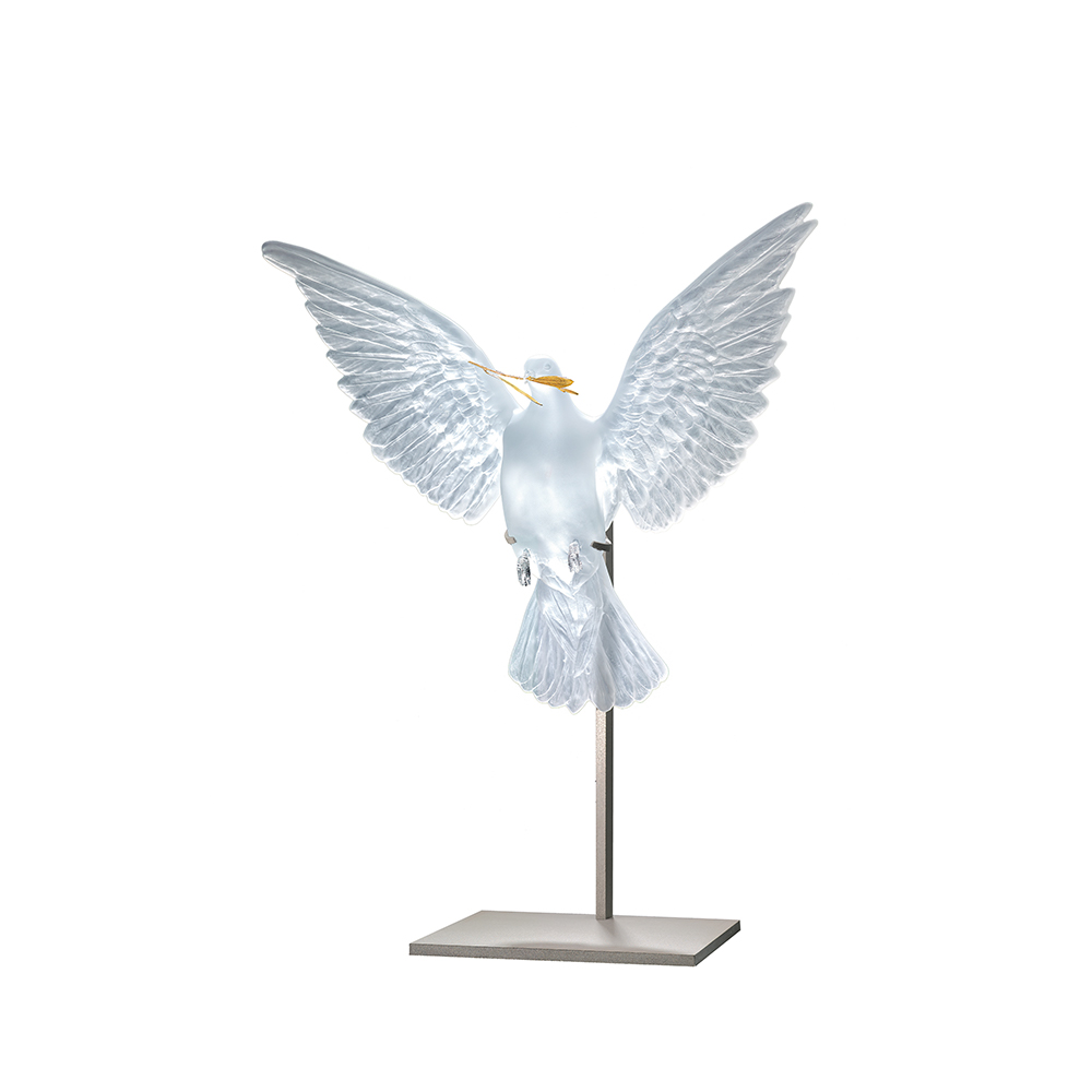 Eternal Truth, crystal sculpture | Limited edition (20 pieces), clear crystal and 18K gold | Eternal, Damien Hirst and Lalique
