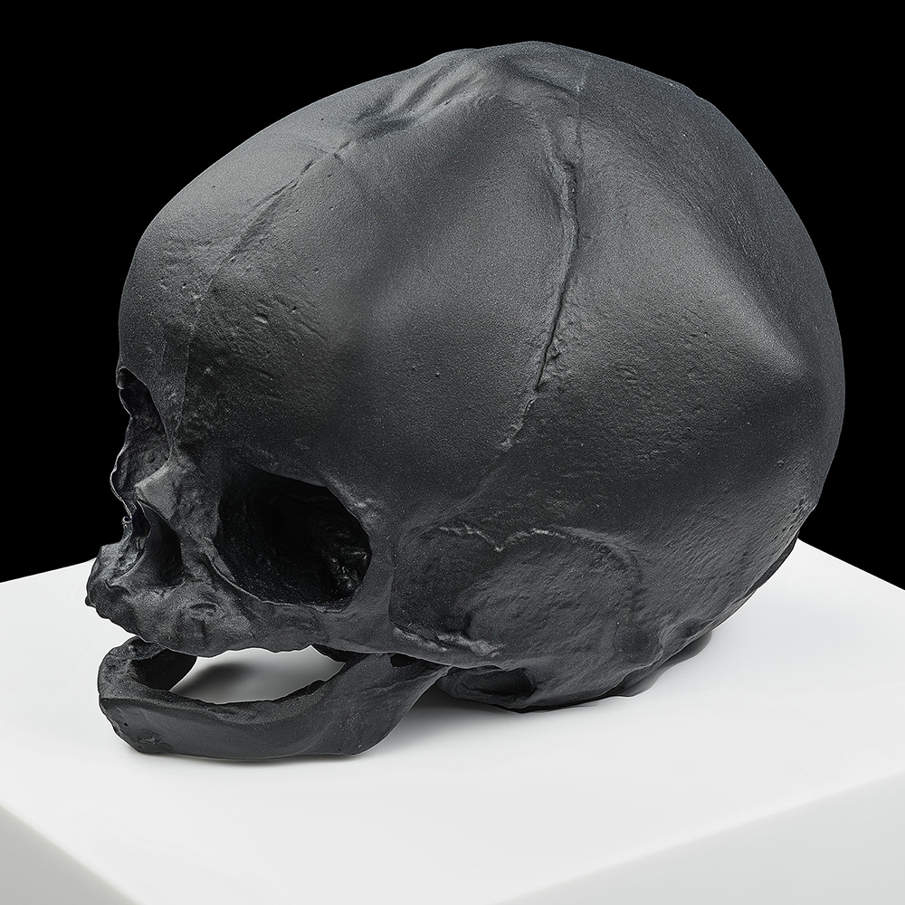 Eternal Memory, crystal sculpture | Limited edition (35 pieces), black crystal| Eternal, Damien Hirst and Lalique