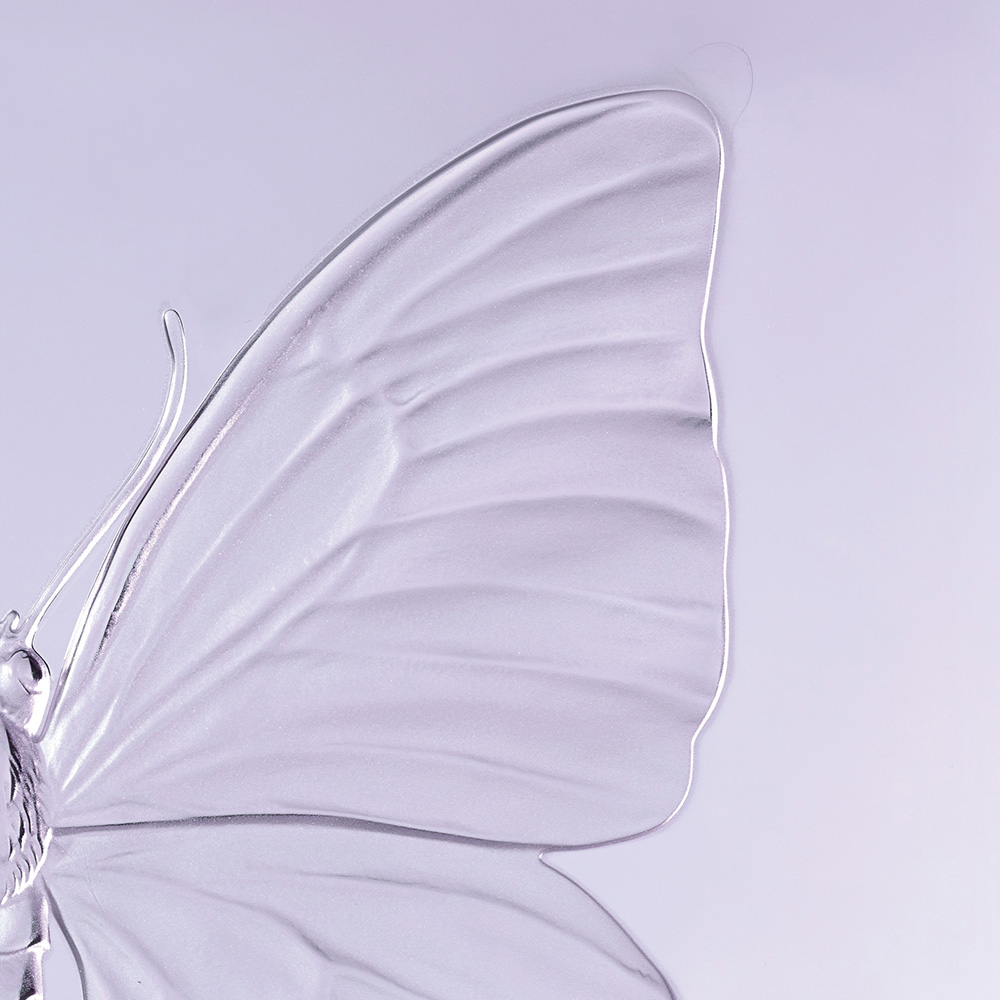 Eternal Beauty, crystal panel | Limited edition (50 pieces), lavender crystal | Eternal, Damien Hirst and Lalique