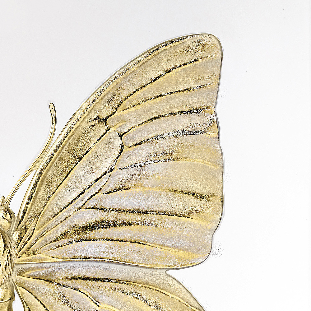 Eternal Beauty, crystal panel | Limited edition (50 pieces), clear crystal and gold stamped | Eternal, Damien Hirst and Lalique