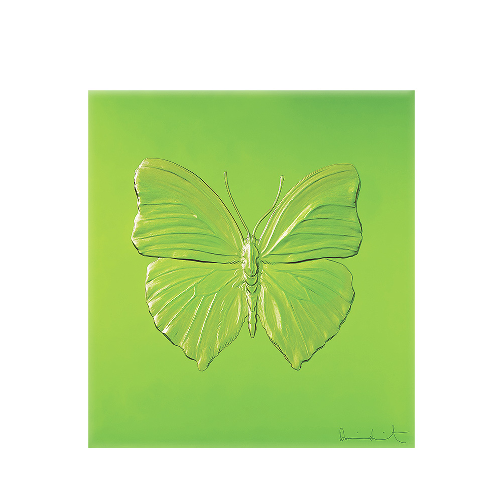 Eternal Love, crystal panel | Limited edition (50 pieces), green crystal | Eternal, Damien Hirst and Lalique