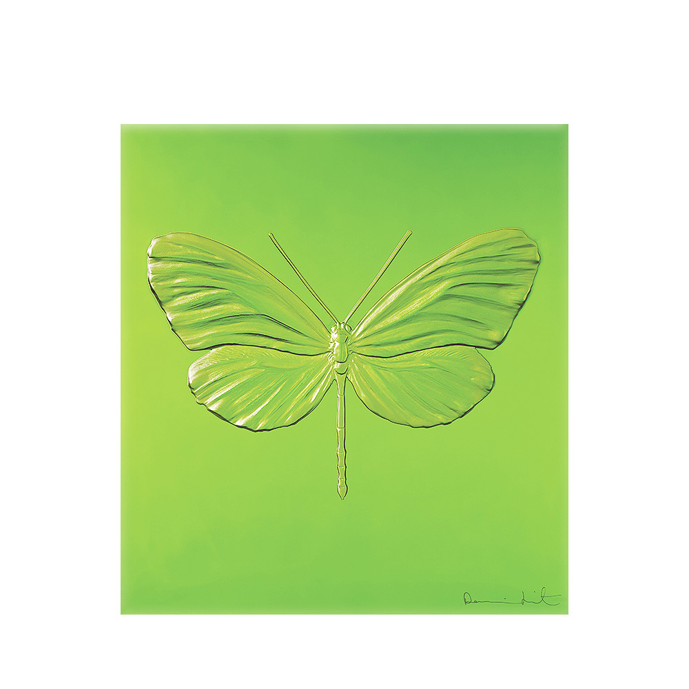 Eternal Hope, crystal panel | Limited edition (50 pieces), green crystal | Eternal, Damien Hirst and Lalique