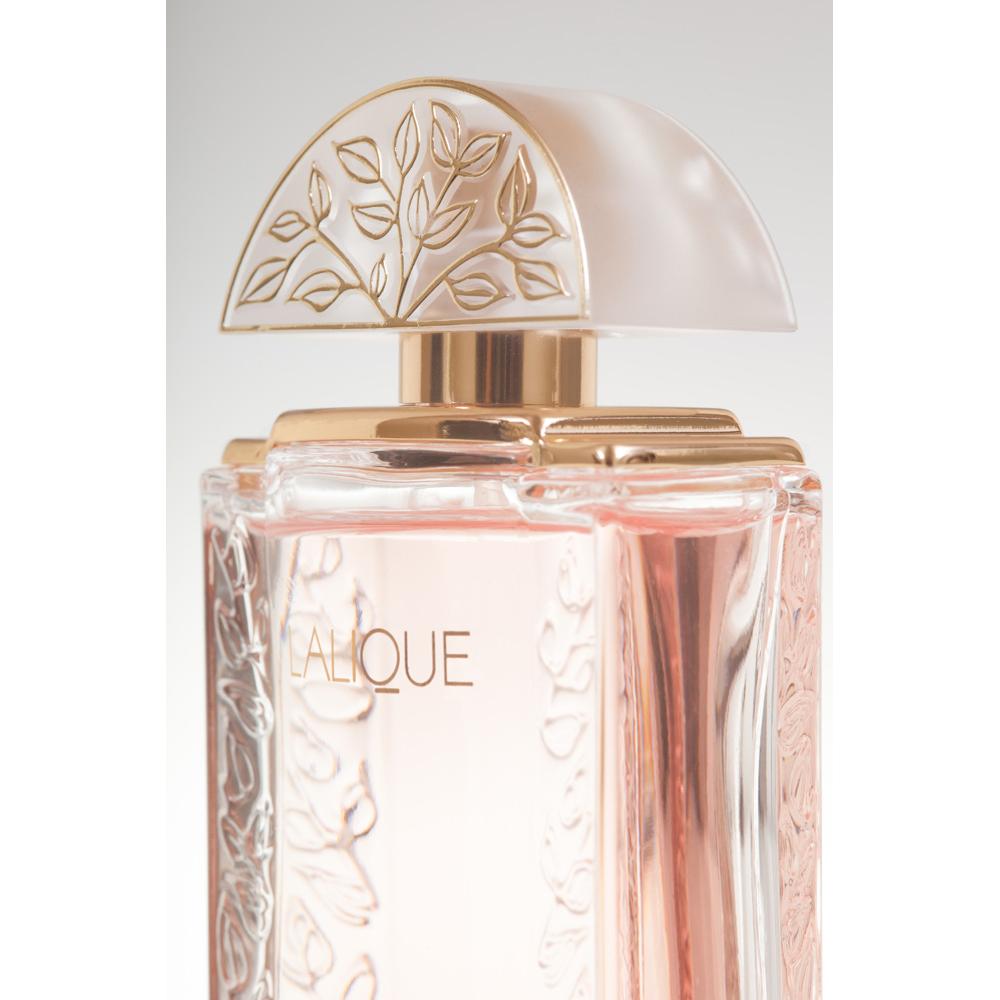 LALIQUE DE LALIQUE Eau de Parfum | 50 ml (1.7 Fl. Oz.) Natural Spray | Lalique Parfums
