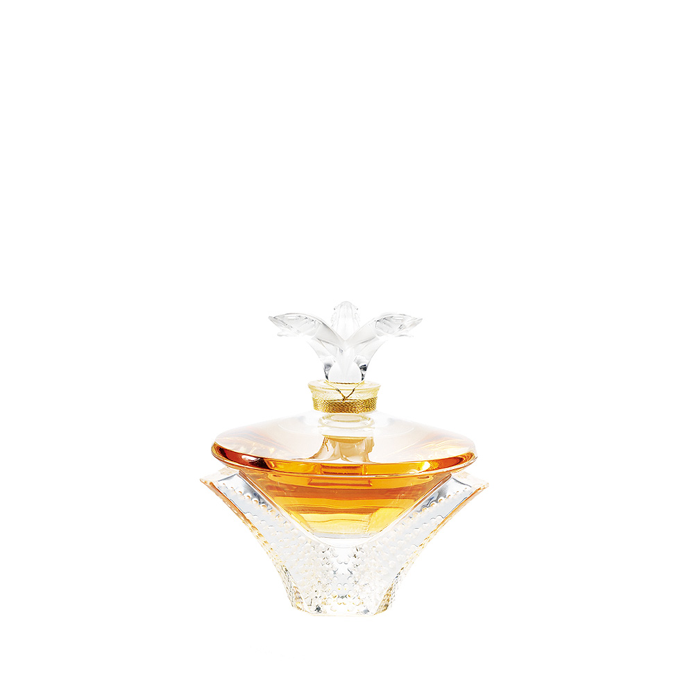 LALIQUE DE LALIQUE Crystal Flacon | Limited, Numbered and Signed Edition 2010, 100 ml (3.3 Fl. Oz.) | Lalique Parfums