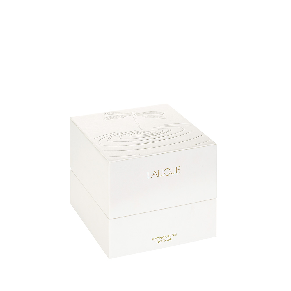 LALIQUE DE LALIQUE Crystal Flacon | Limited, Numbered and Signed Edition 2013, 100 ml (3.3 Fl. Oz.) | Lalique Parfums