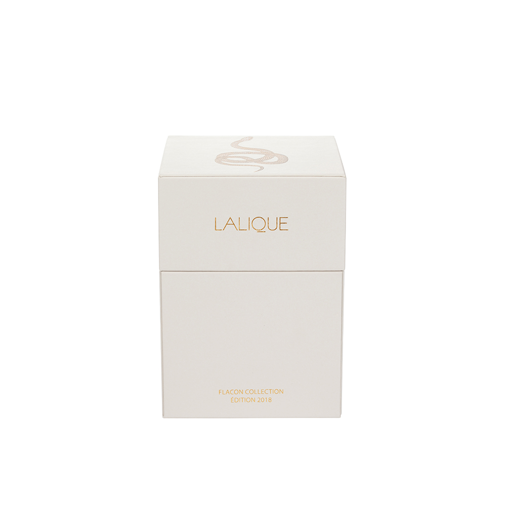 LALIQUE DE LALIQUE Crystal Flacon   Limited, Numbered and Signed Edition 2018, 100 ml (3.3 Fl. Oz.)   Lalique Parfums