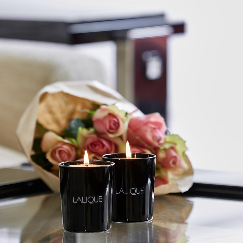Rose, Anatolia - Turkey, Scented Candle | 190 g (6.5 Oz.) | Lalique Parfums