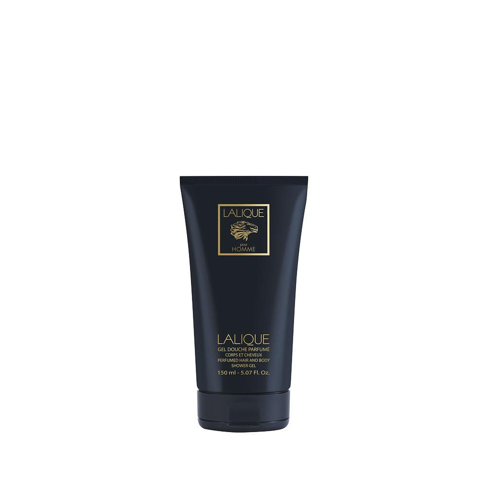 LALIQUE POUR HOMME LION Perfumed Shower Gel | 150 ml (5.07 Fl. Oz.) | Lalique Parfums