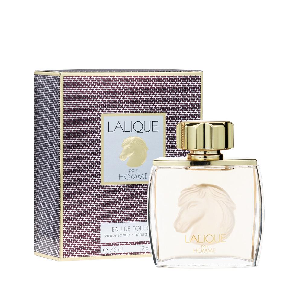 LALIQUE POUR HOMME EQUUS Eau de Toilette | 75 ml (2.5 Fl. Oz.) Natural Spray | Lalique Parfums