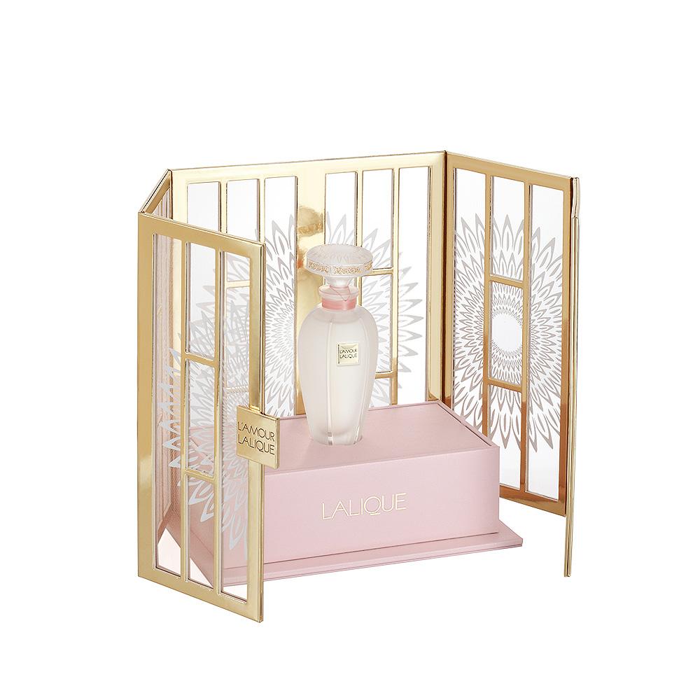 L'AMOUR Crystal Flacon | Extrait de parfum, 80 ml (2.6 Fl. Oz.) | Lalique Parfums