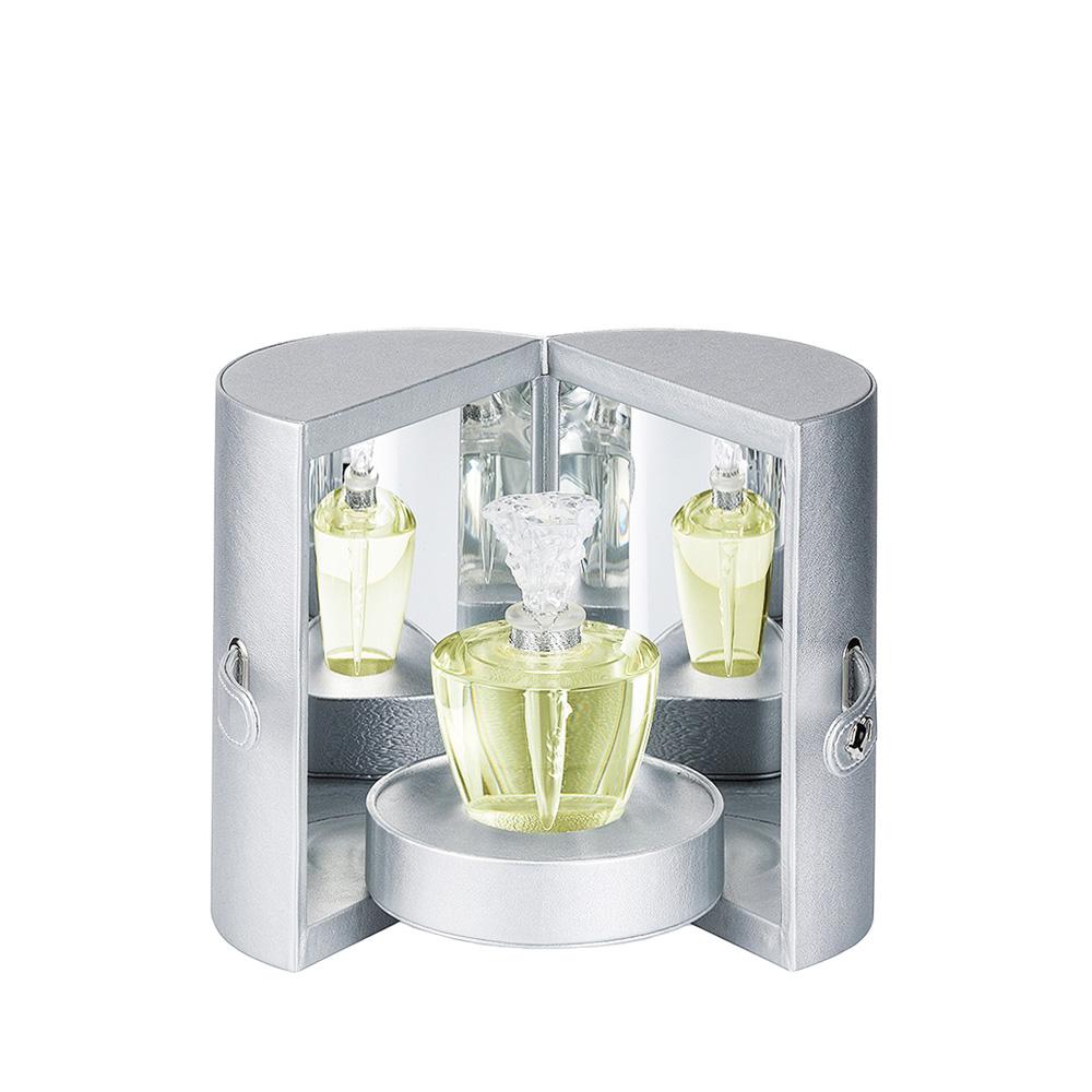 FLEUR DE CRISTAL Crystal Flacon   Extrait de parfum, 150 ml (5.07 Fl. Oz.)   Lalique Parfums