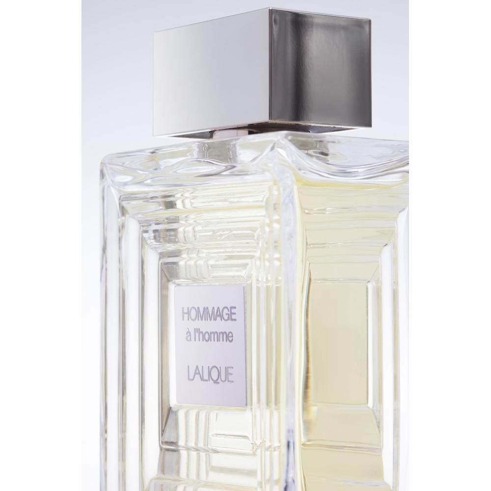 HOMMAGE À L'HOMME Eau de Toilette   100 ml (3.3 Fl. Oz.) Natural Spray   Lalique Parfums