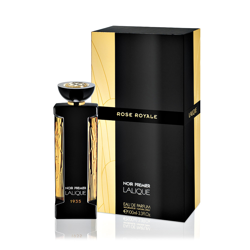 noir premier rose royale eau de parfum 100 ml 3 3 fl oz natural spray lalique parfums. Black Bedroom Furniture Sets. Home Design Ideas