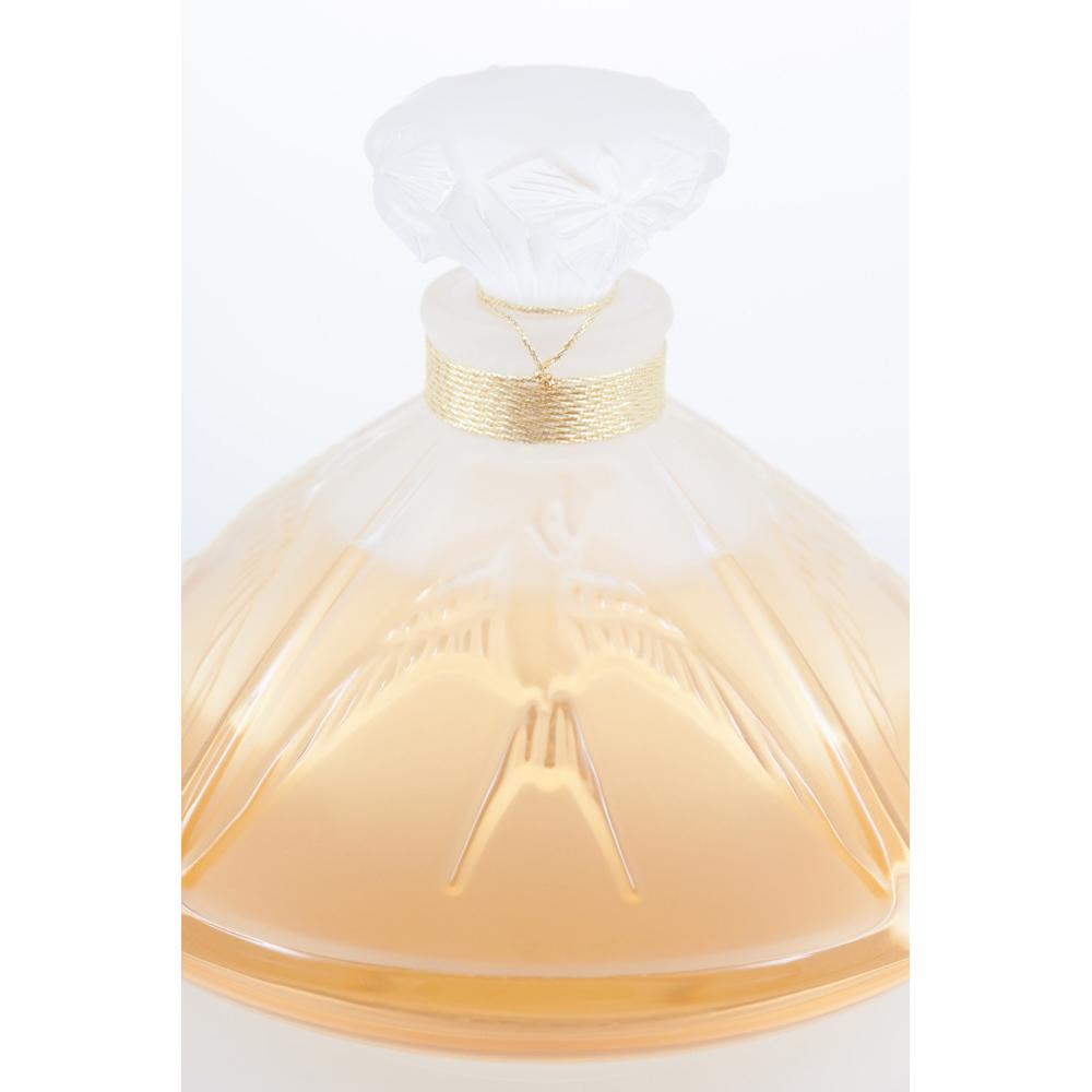 LIVING LALIQUE Crystal Flacon | Extrait de parfum, 120 ml (4 Fl. Oz.) | Lalique Parfums