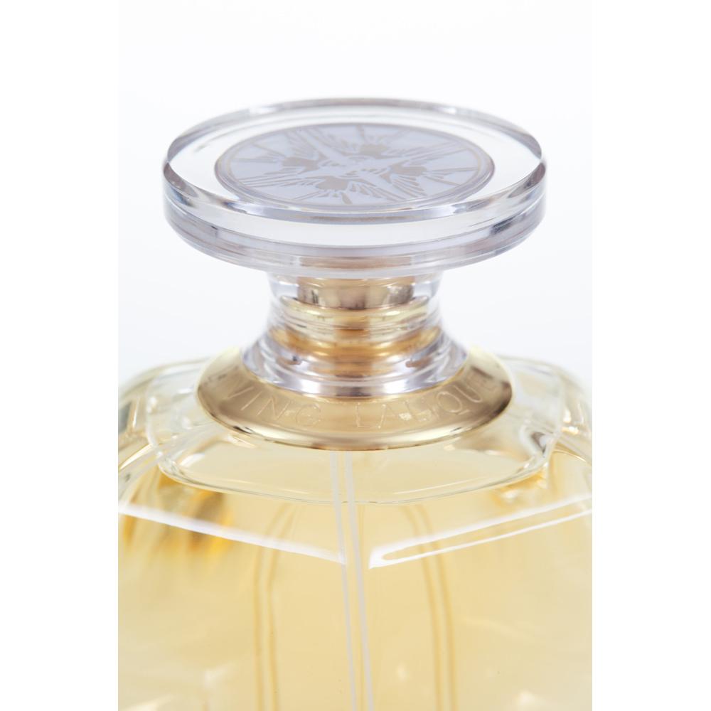 LIVING LALIQUE Eau de Parfum | 100 ml (3.3 Fl. Oz.) Natural Spray | Lalique Parfums