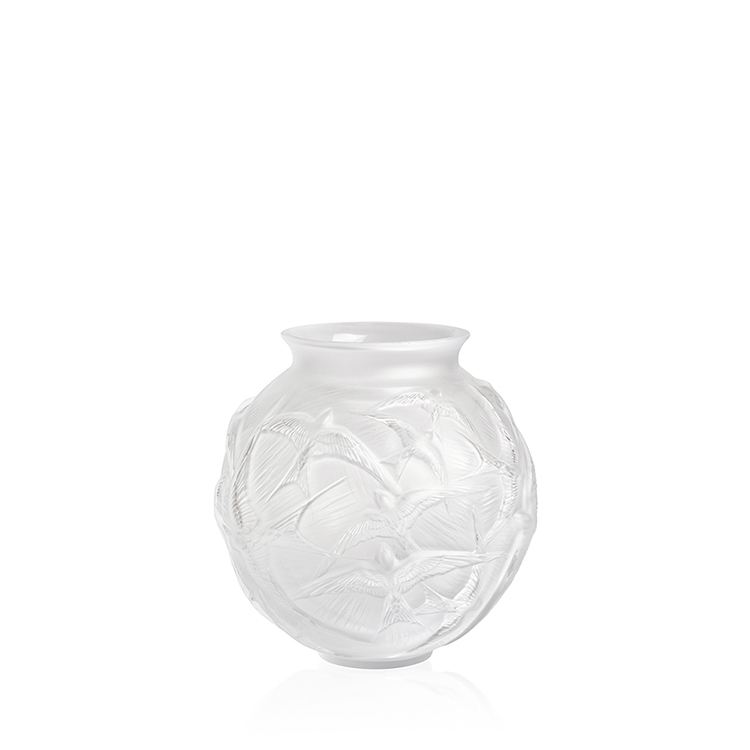 Hirondelles medium vase