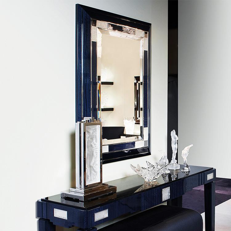 Crystal Mirrors | Lalique Interior Design | Lalique