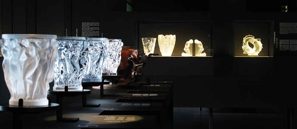 Modern Exhibition Stand Year : Musée lalique a museum dedicated to rené his