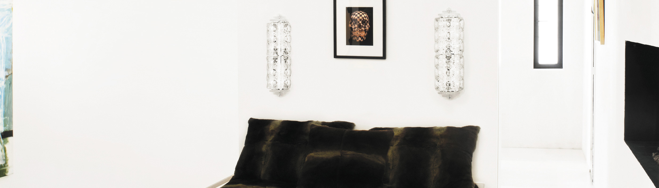 Crystal wall lamps Lalique Interior Design Lalique