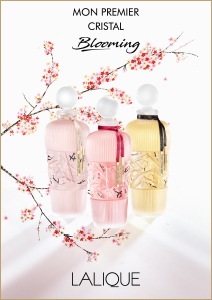 Mon Premier Cristal. Perfume is the most intimate form of luxury. It is to make this experience of luxury even more unique, more special, that Lalique has created a new object of desire: the Mon Premier Cristal Collection.