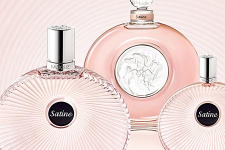 Satine, Lalique new feminine fragrance