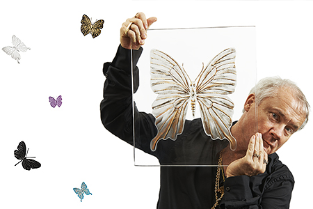 Damien Hirst and Lalique